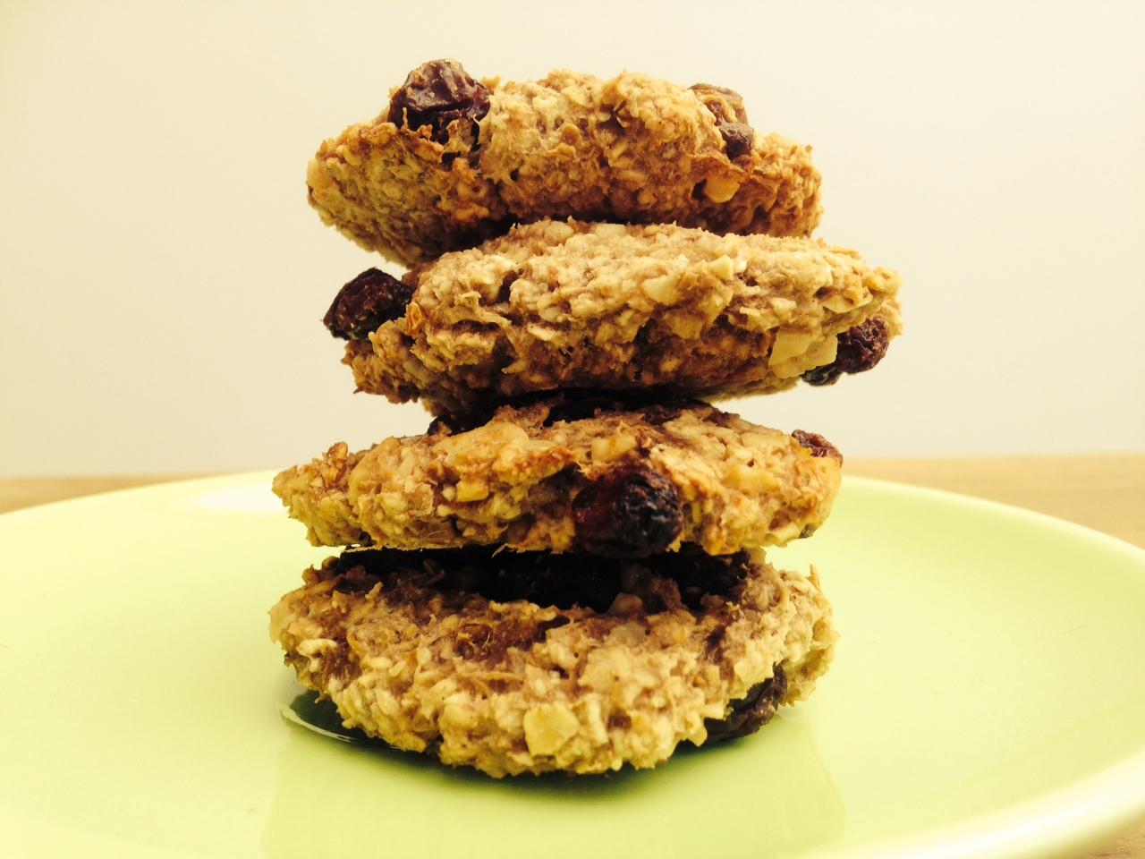 Recept banaan-havermout koekjes